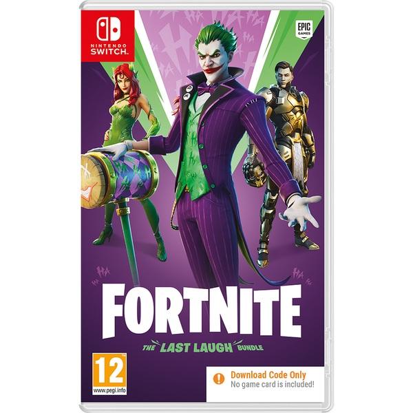 Fortnite: The Last Laugh Bundle Nintendo Switch (Code in Box)