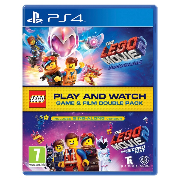 The LEGO Movie 2 & The LEGO Movie 2 Videogame Double Pack PS4