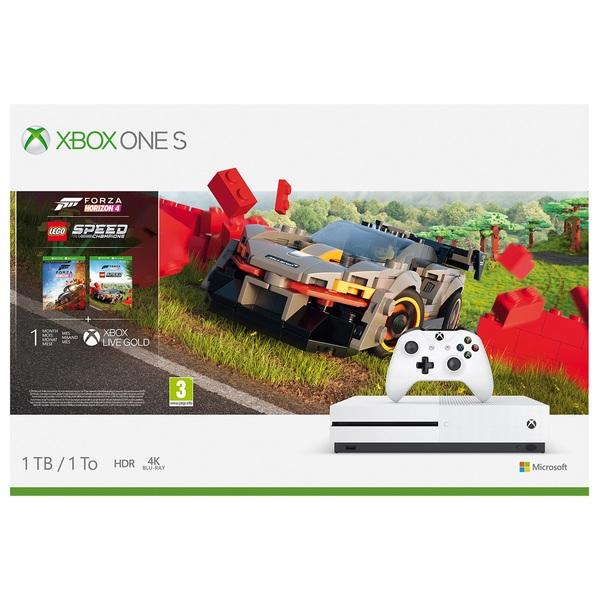 Xbox One S 1TB Forza Horizon 4 & LEGO Speed Champions Bundle