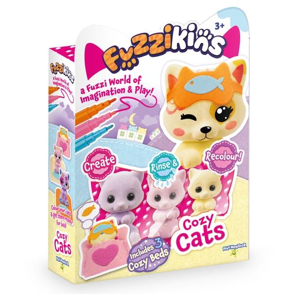 Fuzzikins Bedtime Animals Assortment