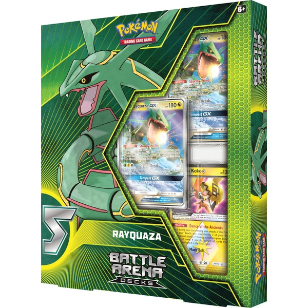 Pokémon Trading Card Game: Battle Arena Decks - Rayquaza-GX vs. Ultra Necrozma-GX