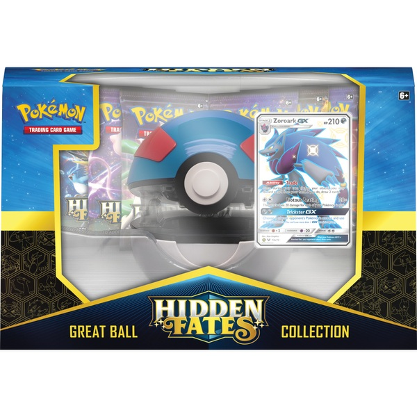 Pokémon Trading Card Game: Hidden Fates Poke Ball Collection Assortment