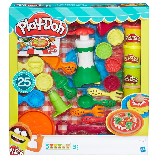 Play Doh Pizza and Pasta Dinner