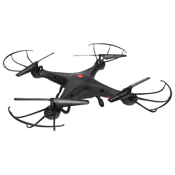 Aerial Quadcopter Drone Black