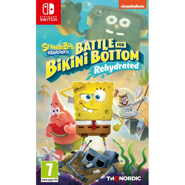 Spongebob SquarePants: Battle for Bikini Bottom - Rehydrated Nintendo Switch