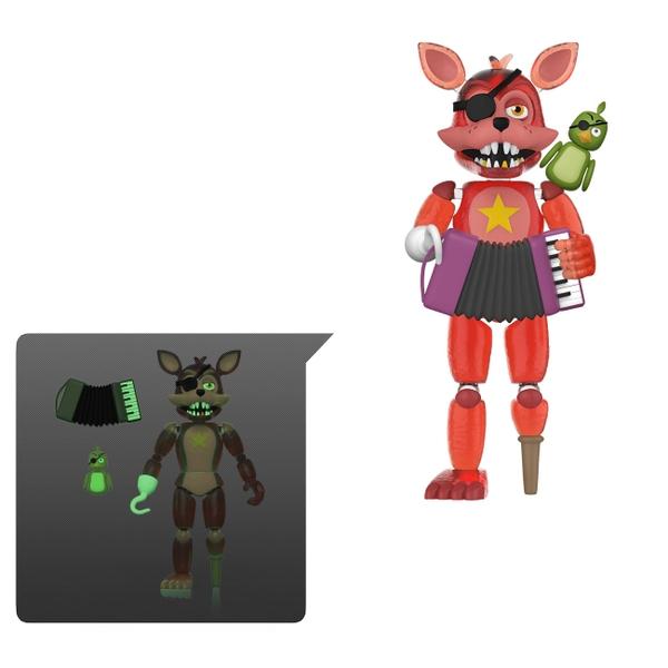 Rockstar Foxy- Five Nights at Freddy's Pizzeria Simulator Action Figure
