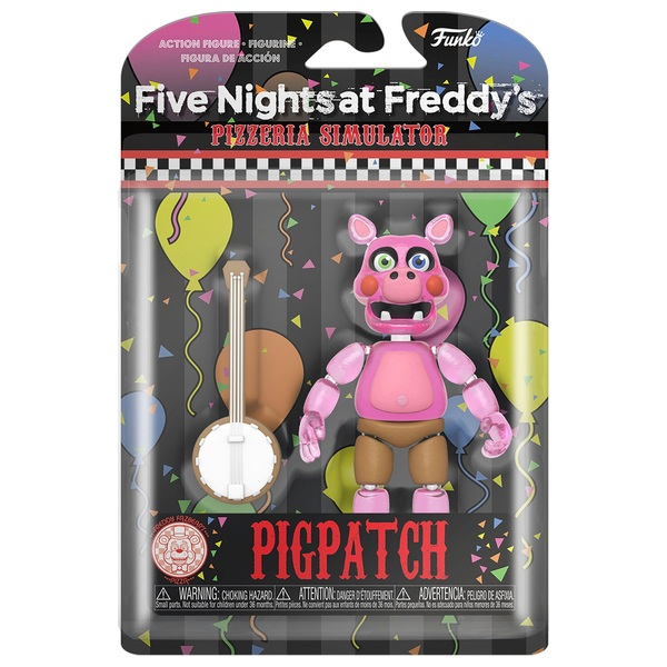 Five Nights At Freddy/' Funko Pizza SIM-pigpatch Figura De Acción