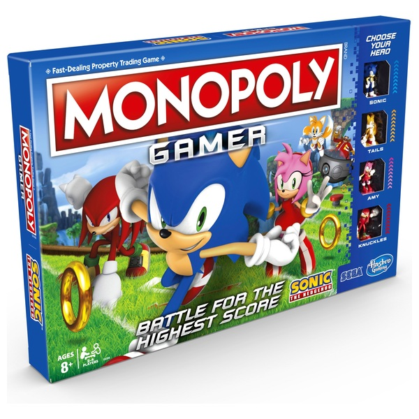 Monopoly Gamer Sonic the Hedgehog Edition