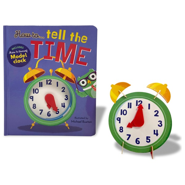 How to ... Tell The Time HB Book