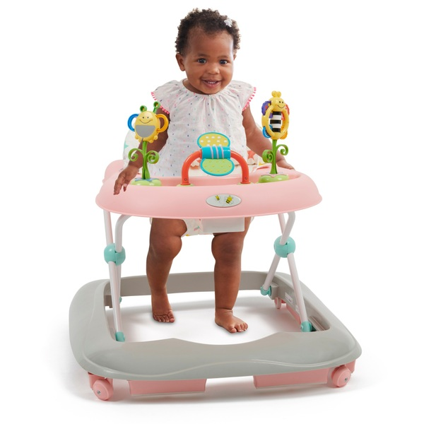 Babylo Bizzy Bee Pink Baby Walker