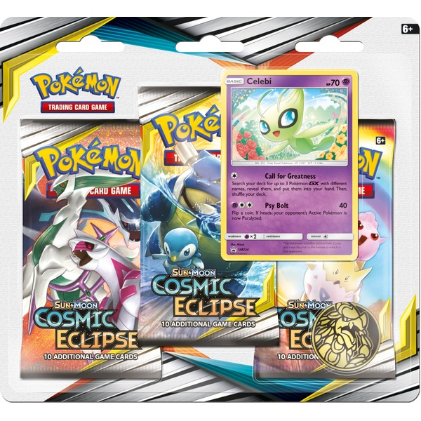 Pokémon Trading Card Game: Sun & Moon 12 Cosmic Eclipse Triple Blister Pack Assortment