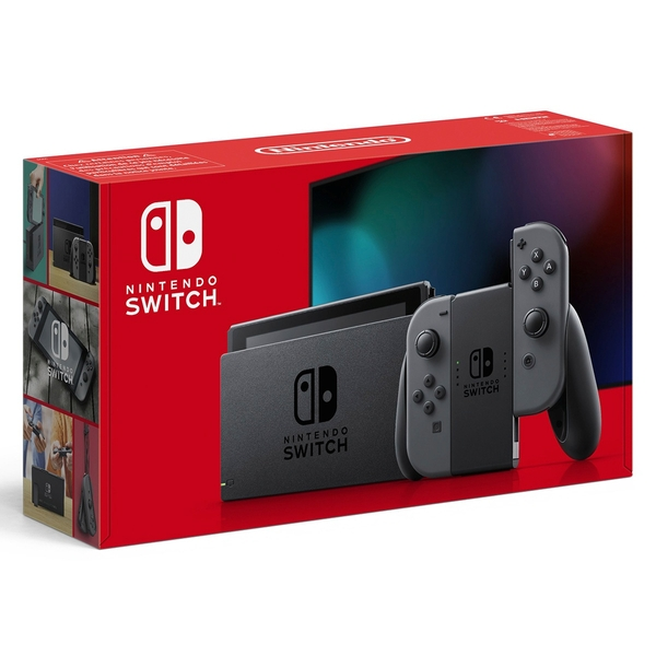 Nintendo Switch Grey (Improved Battery)