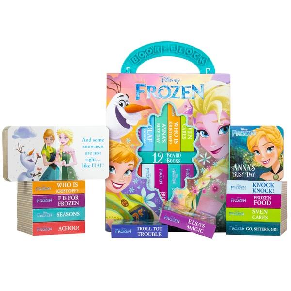 Disney Frozen: My First Library Board Book Set