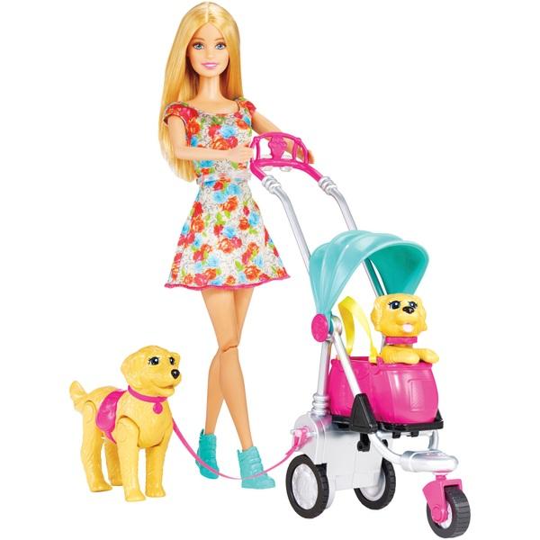 Barbie Strollin Pups