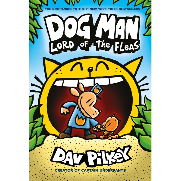 Dog Man 5: Lord of the Fleas Paperback Book