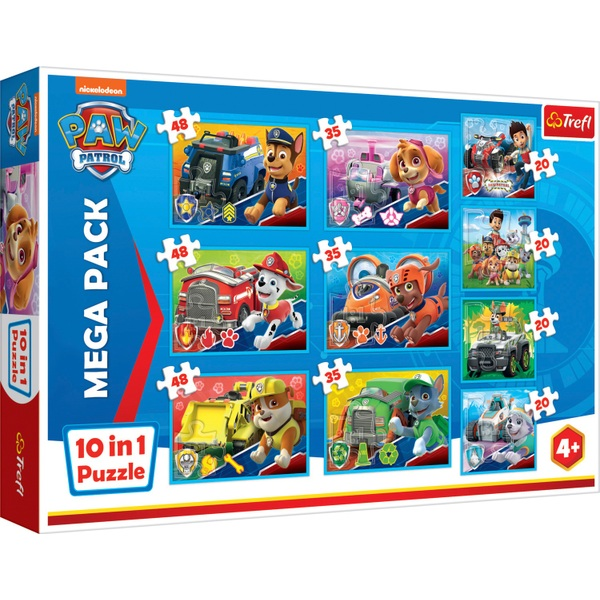 PAW Patrol Team 10in1 Puzzle