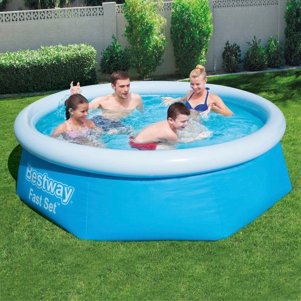 Best Way Fast Set Pool 8 Foot x 26 Inches