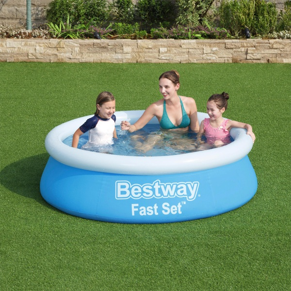 Best Way Fast Set Pool 6 Foot x 20 Inches