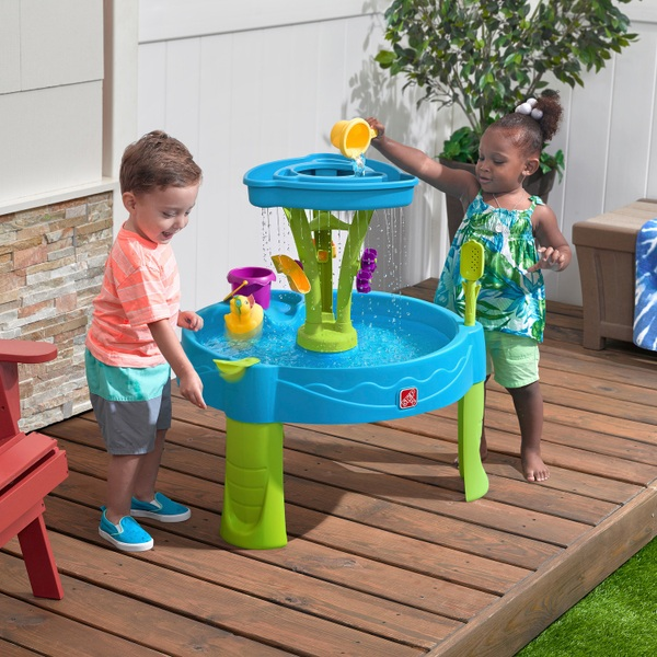 Summer Showers Splash Tower Water Table Smyths Toys