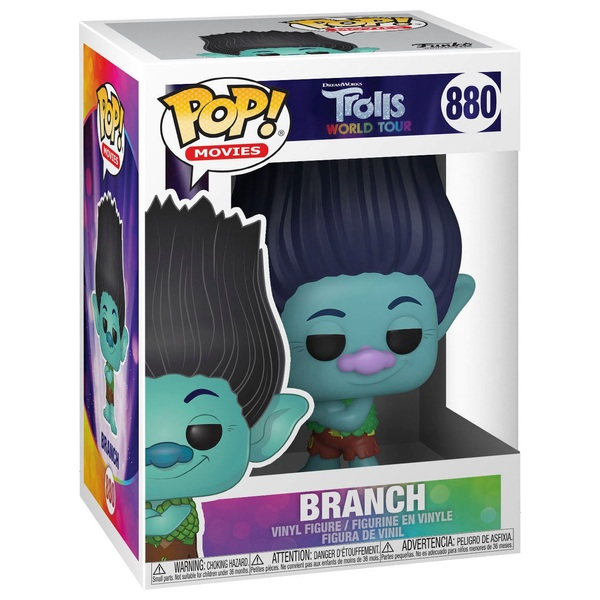 POP! Vinyl: Trolls World Tour -Branch with Chase Assortment