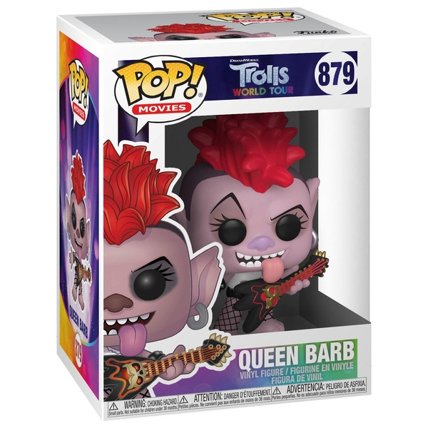 POP! Vinyl: Trolls World Tour - Queen Barb
