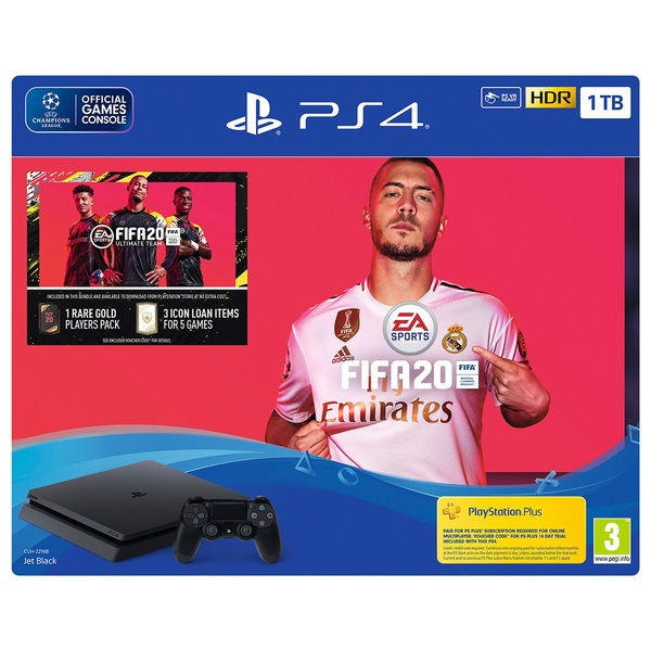 PS4 1TB FIFA 20 Bundle