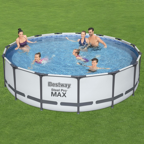 Best Way Steel Pro Max 15 Feet x 42 Inches Pool Set
