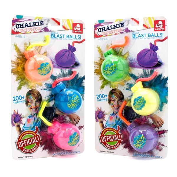 Chalkie Chalk Blast Balls!