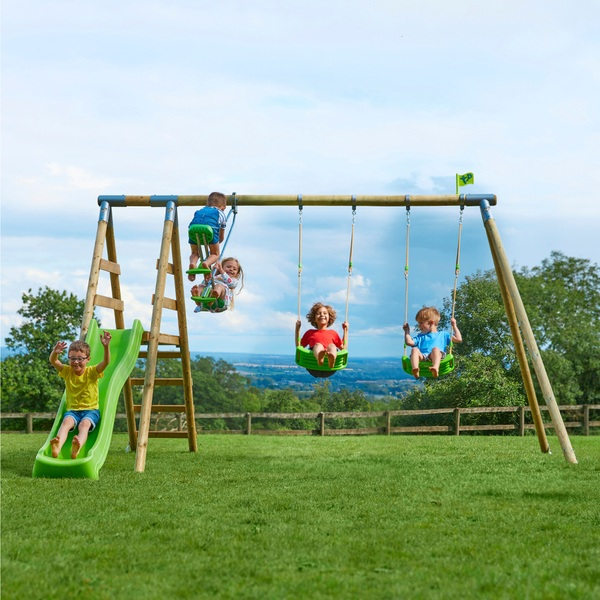 TP Round Wood Multi Play Centre