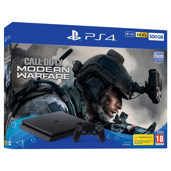 PS4 500GB Call of Duty: Modern Warfare Bundle