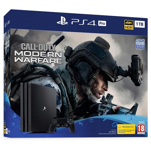 PS4 Pro Call of Duty: Modern Warfare Bundle