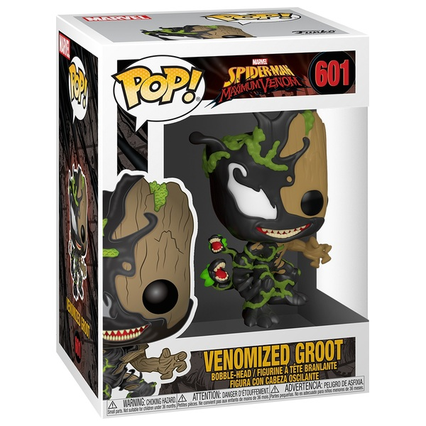 POP! Vinyl: Marvel Max Venomomized Groot