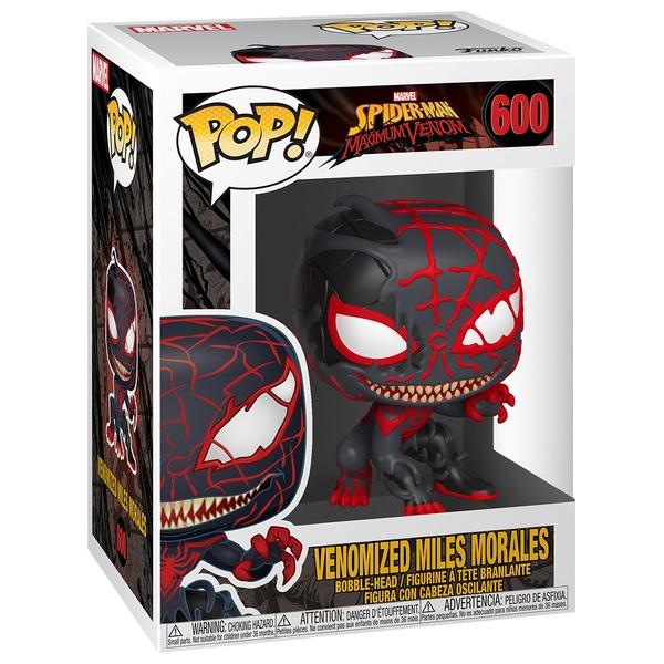 POP! Vinyl: Marvel Max Venomized Miles Morales