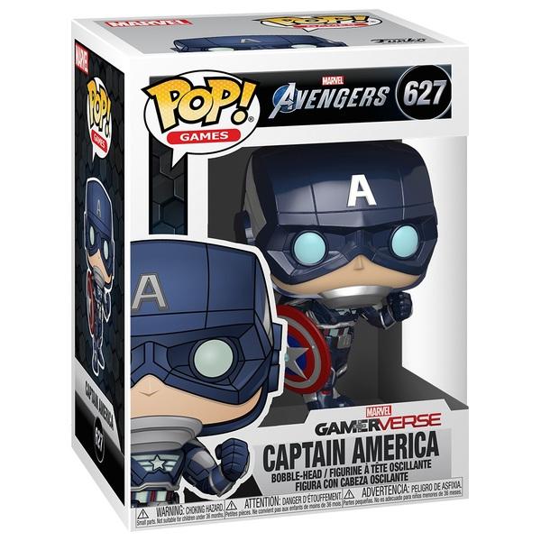 POP! Vinyl: Marvel Avengers Game - Captain America (Stark Tech Suit)