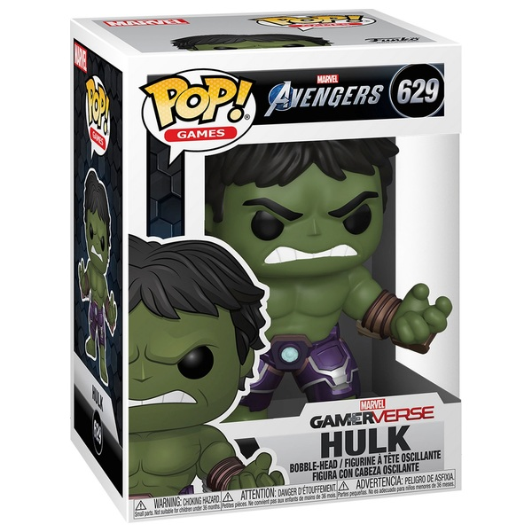 POP! Vinyl: Marvel Gameverse Avengers Hulk
