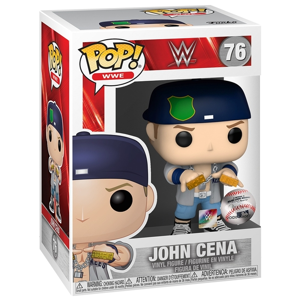 POP! Vinyl: WWE: John Cena - Dr. of Thuganomics