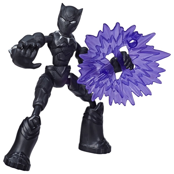 Bend and Flex Black Panther 15cm Bendable Action Figure Marvel Avengers