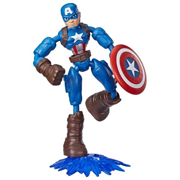 Bend and Flex Captain America 15cm Bendable Action Figure Marvel Avengers
