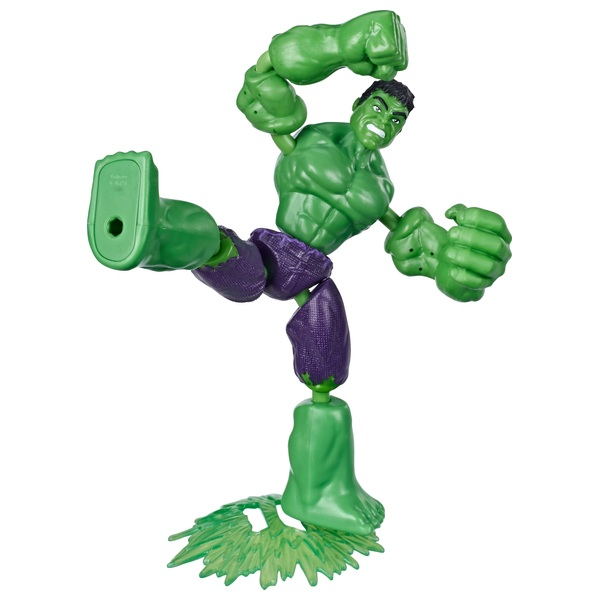 Bend and Flex Hulk 15cm Bendable Action Figure Marvel Avengers