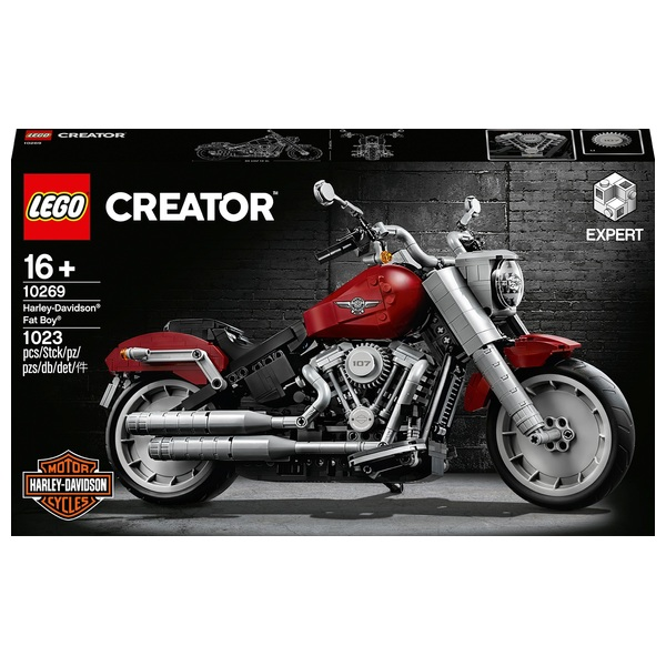 LEGO 10269 Creator Expert Harley-Davidson Fat Boy Motorbike Set
