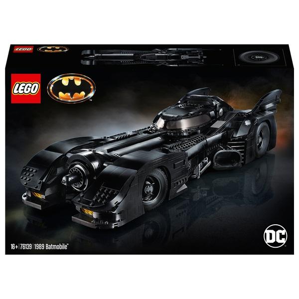 LEGO 76139 DC Comics Super Heroes Batman 1989 Batmobile Set