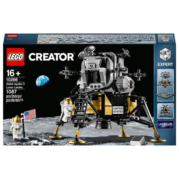 LEGO 10266 Creator Expert NASA Apollo 11 Lunar Lander Set