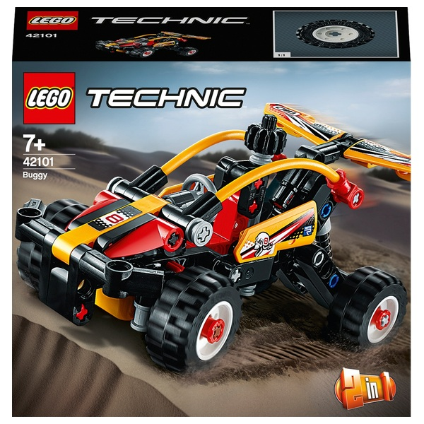 LEGO  42101 Technic Buggy - Toy Racing Car 2in1 Building Set
