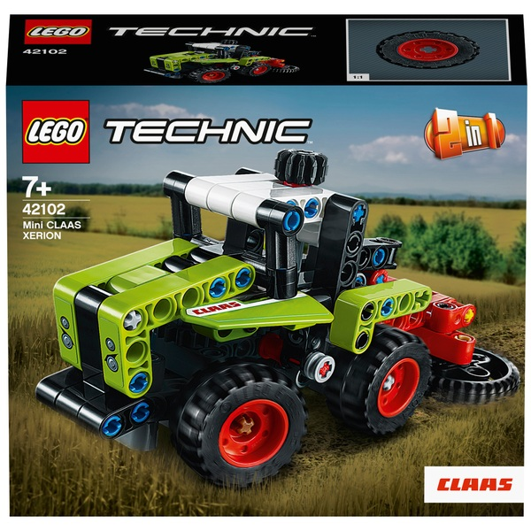 LEGO 42102 Technic Mini CLAAS XERION Tractor Harvester 2in1 Set