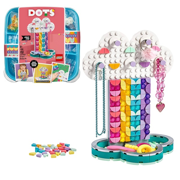 LEGO 41905 DOTS Rainbow Jewellery Stand Set