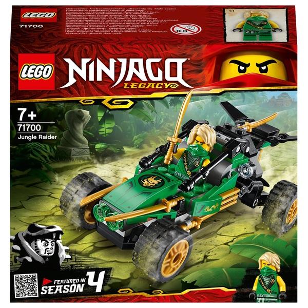 LEGO 71700 Ninjago Legacy Jungle Raider Buggy Car Toy