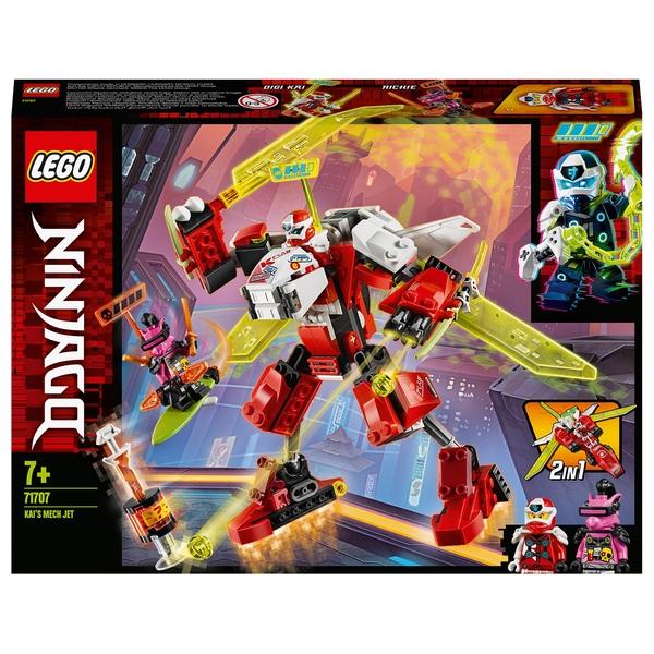 LEGO 71707 NINJAGO Kai's Mech Jet 2in1  Set