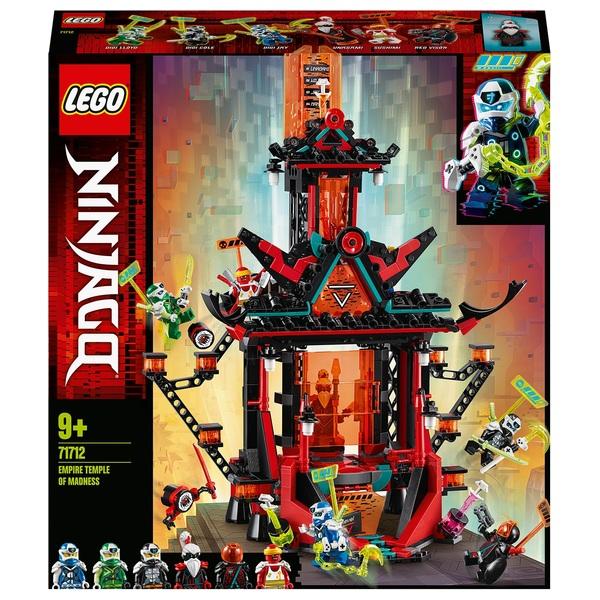 LEGO 71712 NINJAGO Empire Temple of Madness Building Set