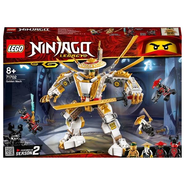 LEGO 71702 Ninjago Legacy Golden Mech Action Figure Ninja Toy