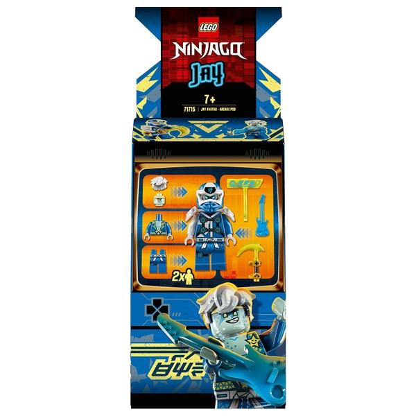 LEGO 71715 NINJAGO Jay Avatar - Arcade Pod Portable Playset